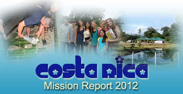 Mission Report Costa Rica 2012
